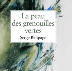 """Serge Bimpage - """"La peau des grenouilles vertes"""" (livre)"""